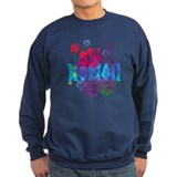 Hawaiian surf style Jumper Sweater