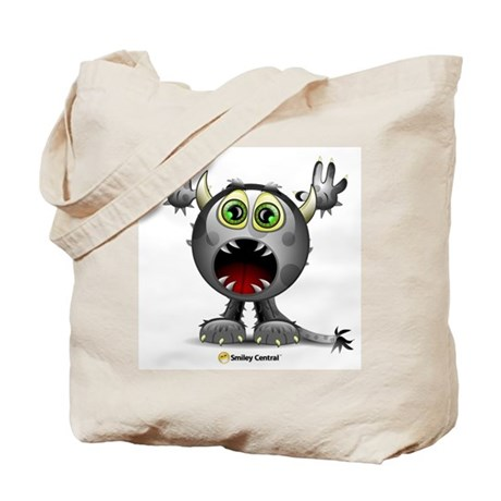 Monster Horns Tote Bag