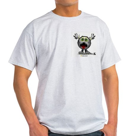 Monster Horns Ash Grey T-Shirt