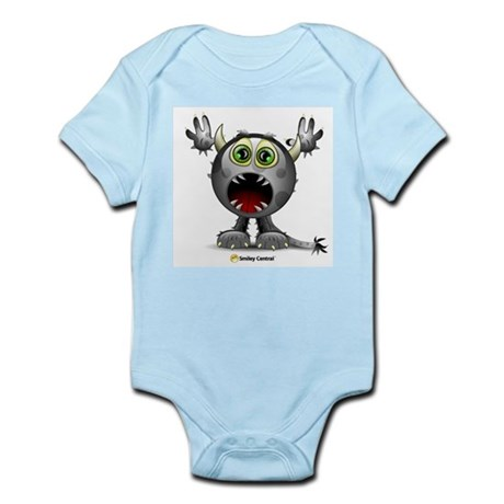 Monster Horns Infant Creeper
