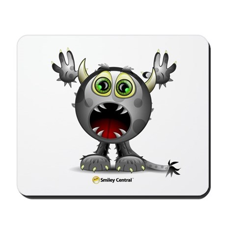Monster Horns Mousepad 