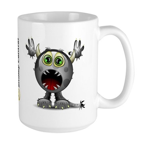 Monster Horns Large Mug 
