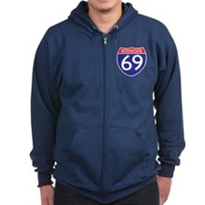 Route 69 Zip Hoody