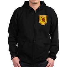 Royal Arms Scotland Zip Hoodie