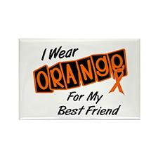 I Wear Orange For My Best Friend 8 Rectangle Magne
