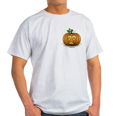 Pumpkin Ash Grey T-Shirt