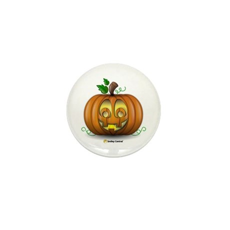 Pumpkin Mini Button