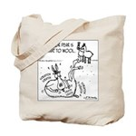 Llama Allergic to Wool Tote Bag