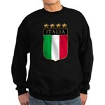 Italian 4 Star flag Sweatshirt (dark)