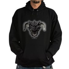 Black Dragon Head Hoodie