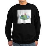 Frogs in Love Sweatshirt (dark)