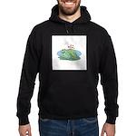 Frogs in Love Hoodie (dark)