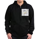 Stars and Stripes Forever Zip Hoodie (dark)