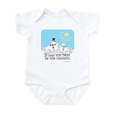 Melted Snow Love Infant Bodysuit