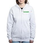Kawasaki Green Women's Zip Hoodie
