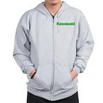 Kawasaki Green Zip Hoodie