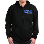 KawasakiTrax.com Logo Zip Hoodie (dark)