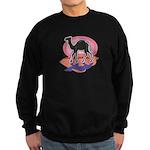 Colorful Camel Design Sweatshirt (dark)