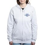 Patriotic Peace Design Women's Zip Hoodie