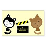 Los Gatos Locos Decal