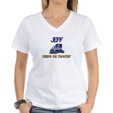 Jeff Keeps on Truckin Shirt