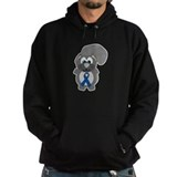 Blue Awareness Ribbon Goofkin Hoody