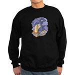 Cute Nightcrawler Worm Sweatshirt (dark)