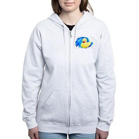 Rubber Ducky Women's Zip Hoodie