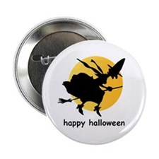 """Bewitching moon 2.25"""" button"""