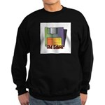 Old School Floppy Disk Sweatshirt (dark)