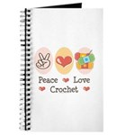 Peace Love Crochet Journal