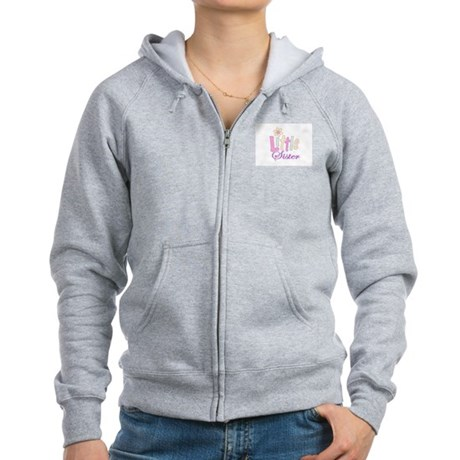 Little Sister Women's Zip Hoodie