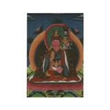 Padmasambhava Boddhisatva Rectangle Magnet