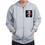 Stars and Stripes Obama Zip Hoodie