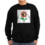 Retro Yin Yang Flower Sweatshirt (dark)