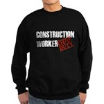 Off Duty Construction Worker Sweatshirt (dark)