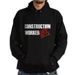 Off Duty Construction Worker Hoodie (dark)