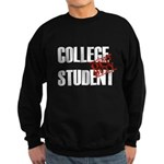 Off Duty College Student Sweatshirt (dark)