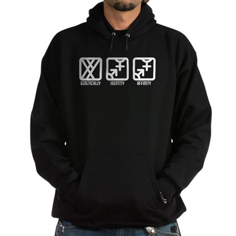 MaleBoth to Both Hoodie (dark)