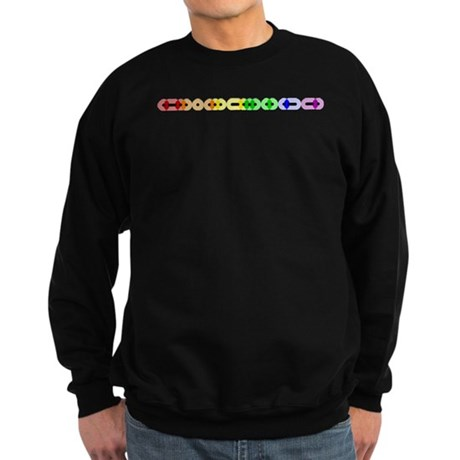 Lesbian Morse Bar Sweatshirt (dark)
