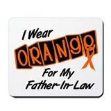 I Wear Orange For My Father-In-Law 8 Mousepad