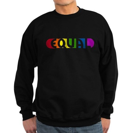 Equal Rainbow Sweatshirt (dark)