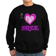 I Love Jazz Sweatshirt