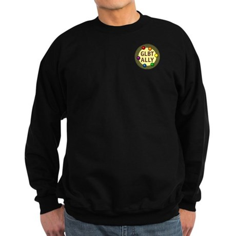 Ally Pocket Baubles -GLBT- Sweatshirt (dark)