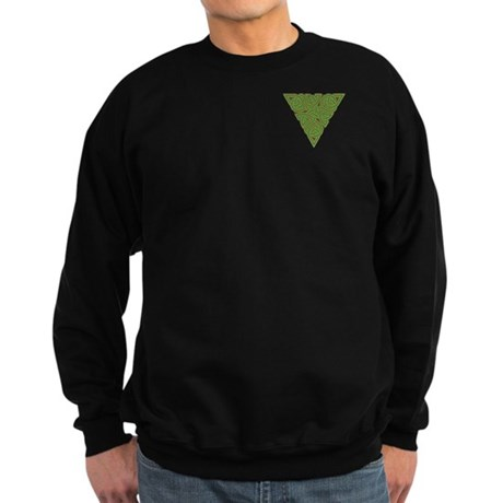Arboreal Triangle Pocket Knot Sweatshirt (dark)