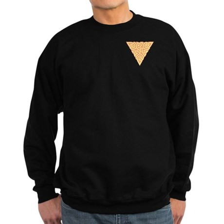 Sunny Triangle Pocket Knot Sweatshirt (dark)
