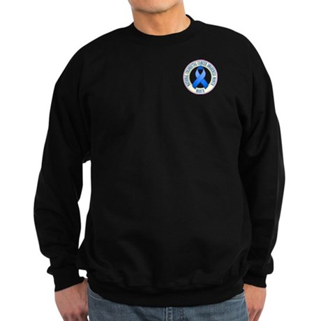 Pocket Colorectal Cancer Month Sweatshirt (dark)
