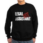 Off Duty Legal Assistant Sweatshirt (dark)