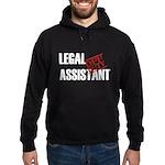 Off Duty Legal Assistant Hoodie (dark)