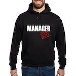 Off Duty Manager Hoodie (dark)